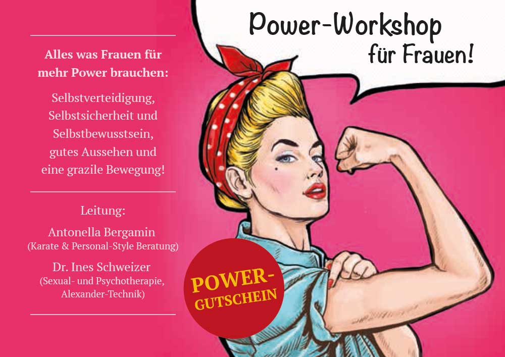 Power-Workshop für Frauen
