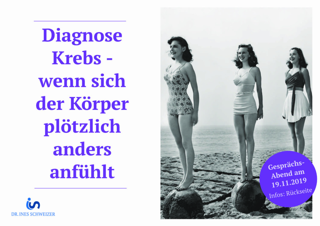 Diagnose Krebs - wenn sich der Körper plötzlich anders anfühlt