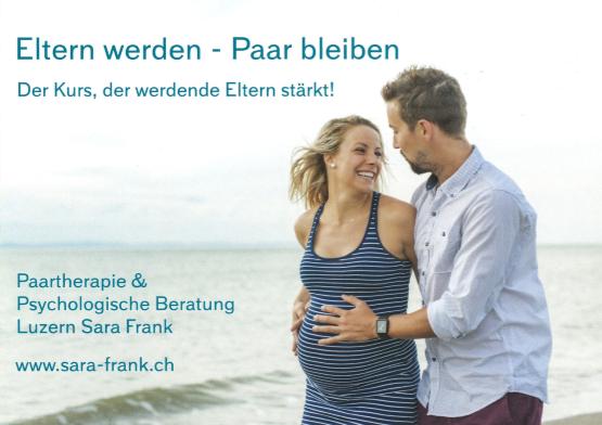 Eltern werden - Paar bleiben Flyer